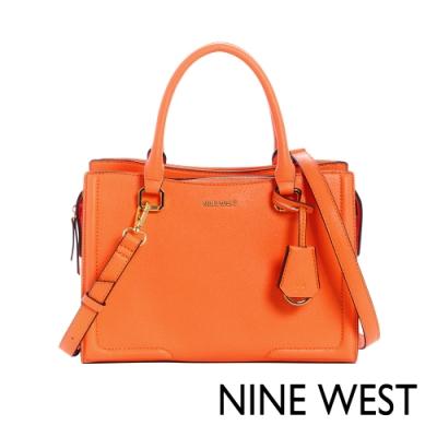 NINE WEST SHAYDEN梯型手提包-亮橘色(117206)
