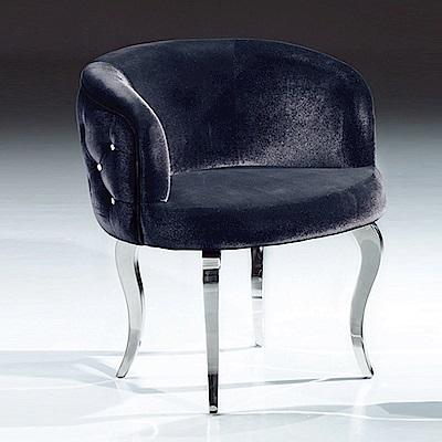 AS-沙羅休閒椅-60x60x73cm(兩色可選)