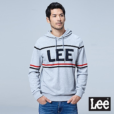 Lee 長袖連帽厚TEE/RG