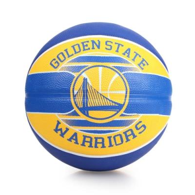 SPALDING 勇士 Warriors 籃球 藍黃