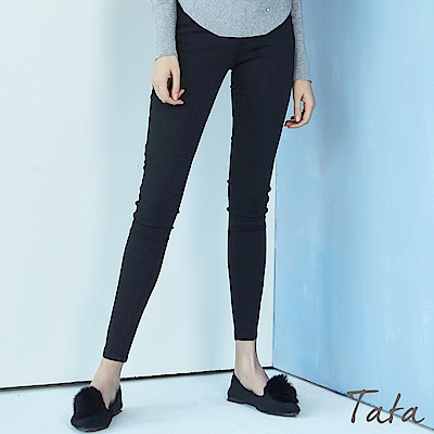 顯瘦彈力牛仔褲 TATA