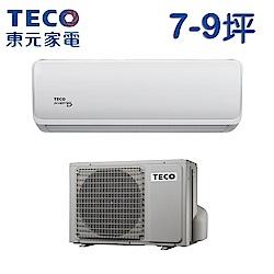 TECO東元 7-9坪 一對一雅適變頻冷暖型冷氣M