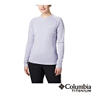Columbia 哥倫比亞 女款- Omni HEAT 3D 鋁點保暖上衣-紫色