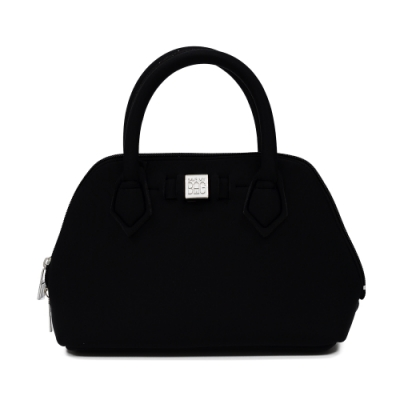 SAVE MY BAG 義大利品牌 PRINCESS MINI系列 黑色超輕量迷你手提包