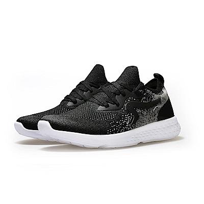 【ZEPRO】女子Q-RUN運動時尚休閒鞋-暗夜黑