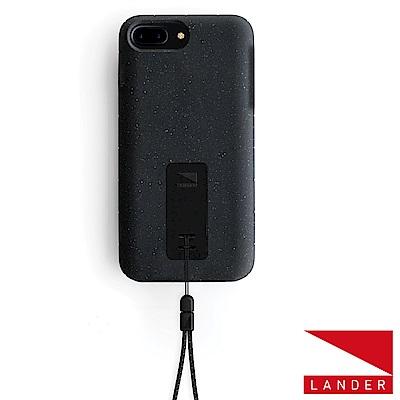 美國 Lander iPhone 8+ /7+ Moab 防摔手機保護殼 - 黑(附手繩)