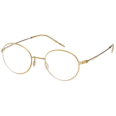 VEDI VERO 復古圓框 光學眼鏡 (金色)
