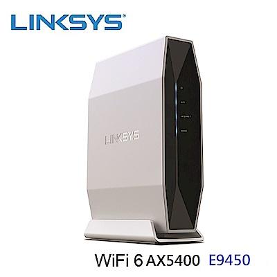 Linksys 雙頻 E9450 WiFi 6 路由器(AX5400)
