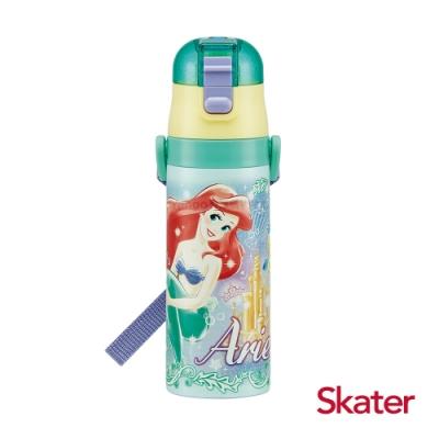 Skater直飲470ml不鏽鋼水壺-小美人魚愛麗兒