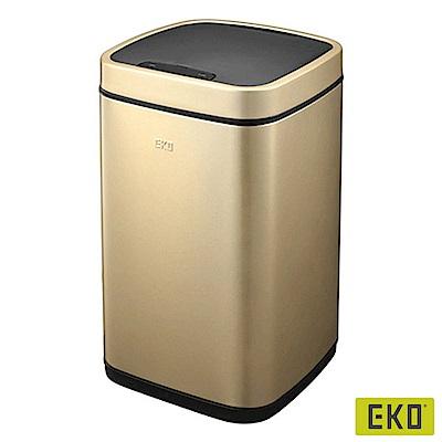 EKO 臻美自動感應垃圾桶-香檳金9L