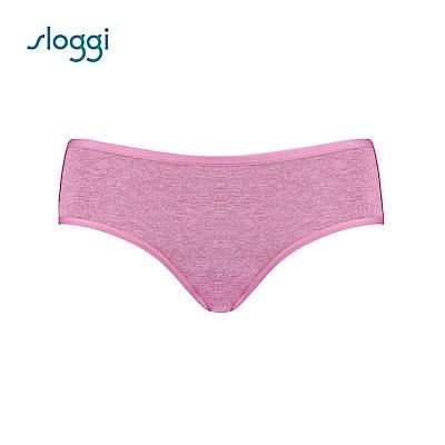 sloggi Everyday 有機過生活系列平口褲 薔薇粉 87-819 R5