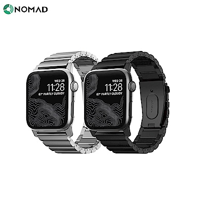 美國NOMAD 全球限量 Apple Watch 鈦金屬錶帶 -42/44mm