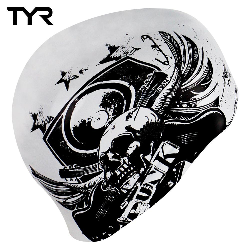 美國TYR 成人用雙面矽膠泳帽 Swim Punk Reversible Cap