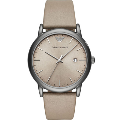 EMPORIO ARMANI Classic 簡約風時尚腕錶(AR11116)43mm