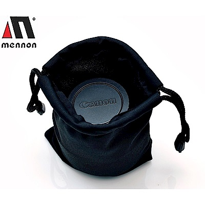 Mennon 微吸震鏡頭袋,小,適直徑8.5高9cm的鏡頭