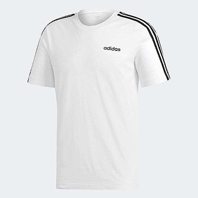 adidas T恤 Essentials 3 Stripes 男款