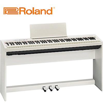 [無卡分期-12期] ROLAND FP-30 數位電鋼琴 流行白色款