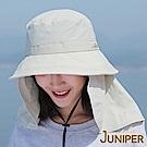 JUNIPER 抗UV防潑水防曬可拆式披風淑女遮陽帽