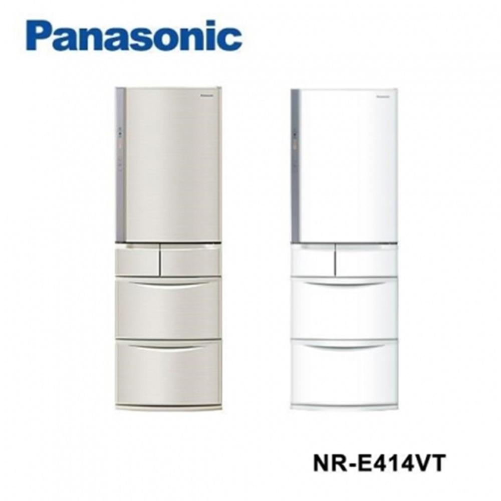 Panasonic 國際牌 日製411公升日製變頻五門電冰箱NR-E414VT