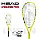 【HEAD】壁球拍 SPARK ELITE PACK 190g 黃/黑 214119 product thumbnail 1