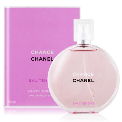 CHANEL 香奈兒 CHANCE 淡香水粉紅甜蜜版100ml EDT-國際版