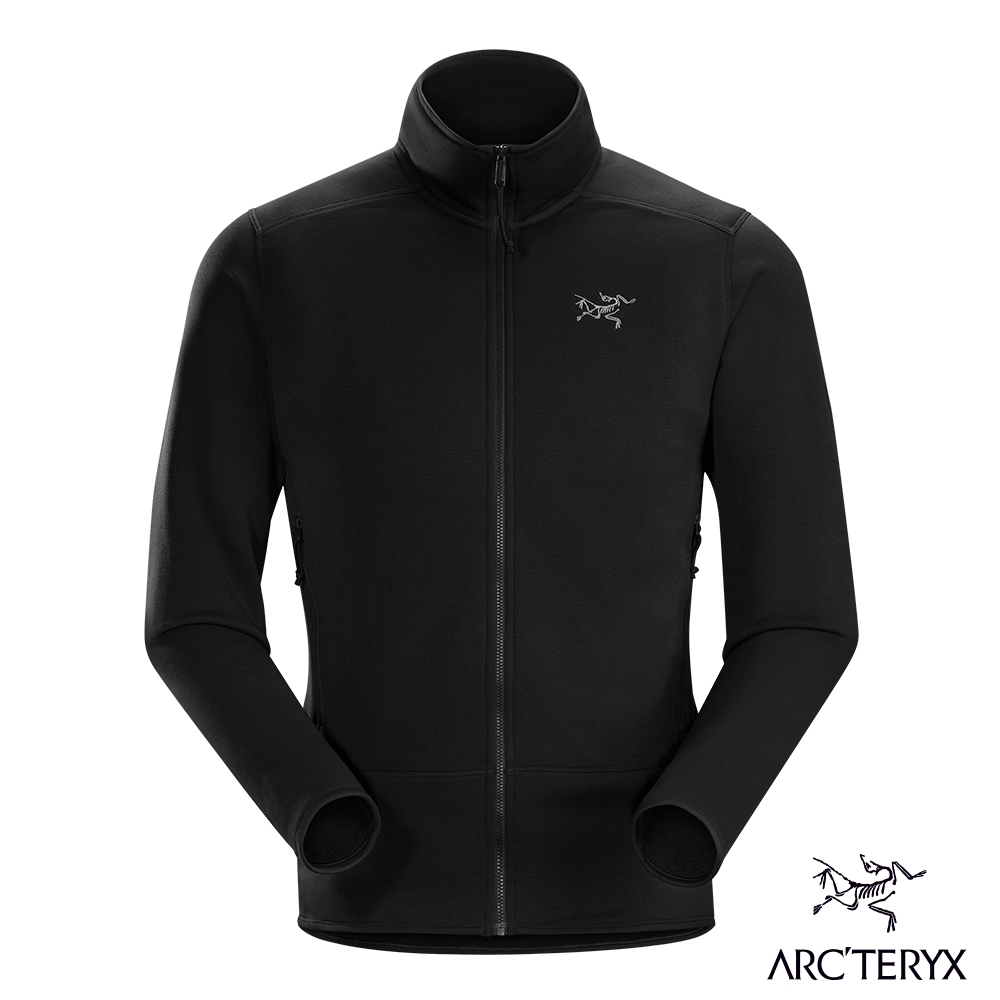Arcteryx 始祖鳥 男 Kyanite 刷毛外套 黑