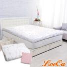 (破盤組)LooCa 雅緻緹花10cm彈力記憶床墊-單大3.5尺