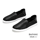 達芙妮DAPHNE 休閒鞋-經典原色百搭雲軟樂福鞋- 黑色