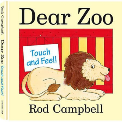 Dear Zoo Touch And Feel Book 可愛動物園觸摸書