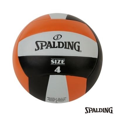 SPALDING Team 排球 黑/棕/白#4
