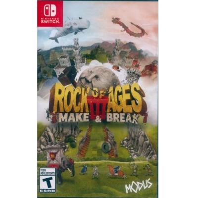 世紀之石 3:創造與破壞 Rock of Ages III: Make & Break - NS Switch 中英日文美版