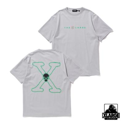 XLARGE S/S TEE T.N.O短袖T恤-灰