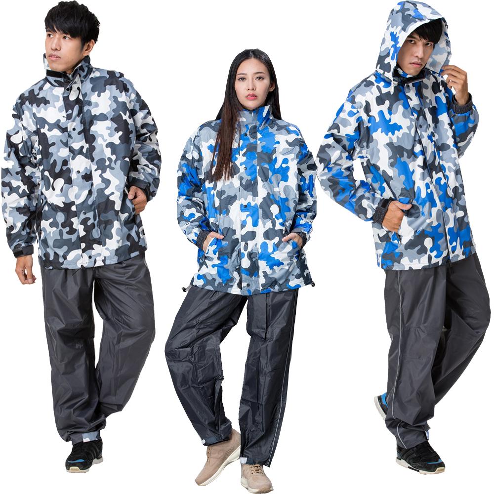 【東伸 DongShen】都會叢林迷彩外套雨衣