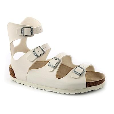 勃肯BIRKENSTOCK 032231。ATHENL雅典娜 繞踝羅馬涼鞋(白色)