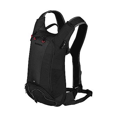 【SHIMANO】UNZEN 6L 自行車背包 (不含水袋) 黑