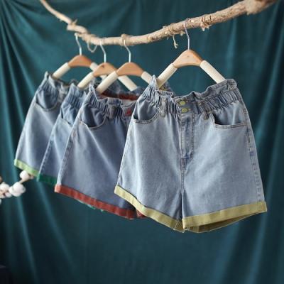 高腰牛仔短褲時尚韓版熱褲百搭-設計所在