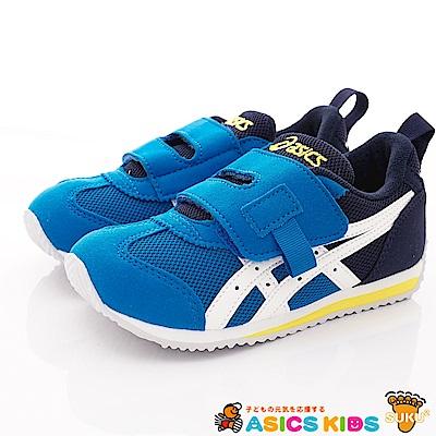 亞瑟士SUKU2機能鞋 輕量穩定款 MON90-400藍(中小童段)