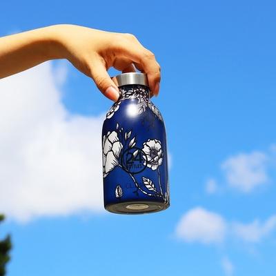 義大利 24Bottles 不鏽鋼雙層保溫瓶 330ml - 靜謐