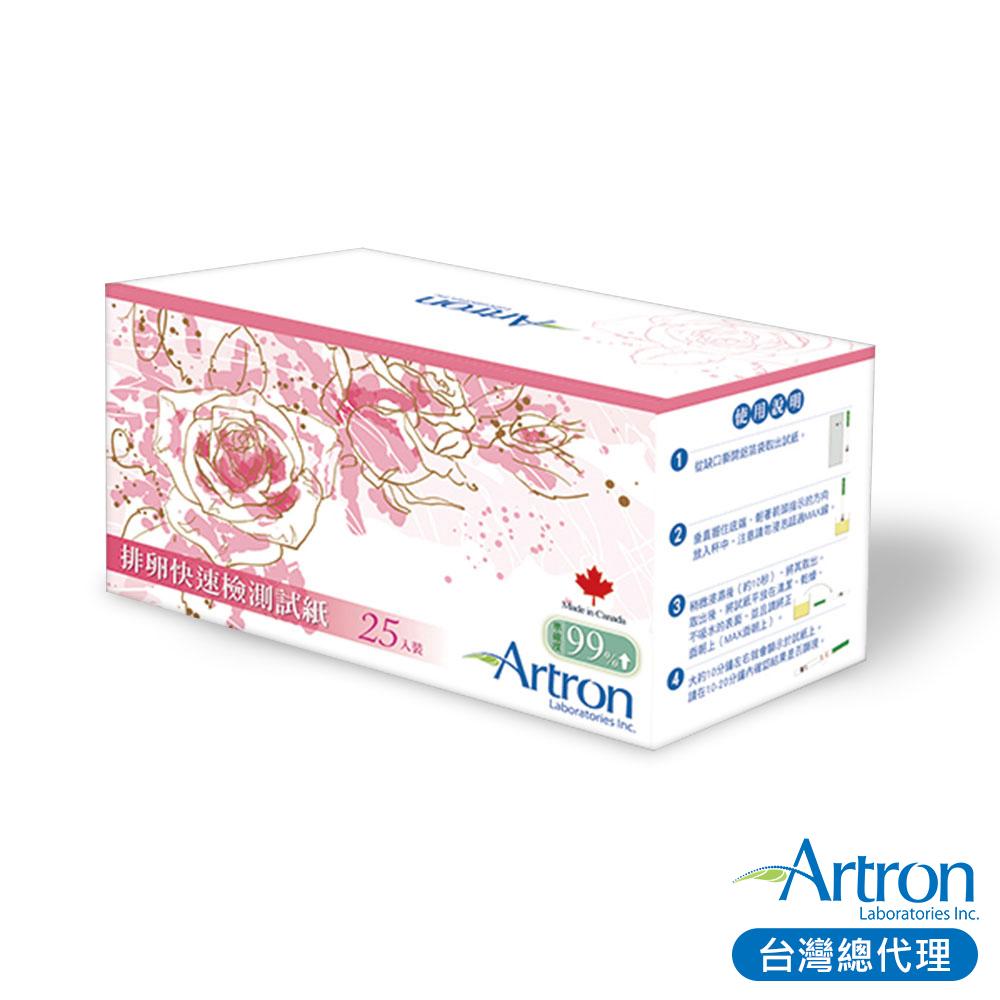 加拿大Artron雅創 5mm超寬版排卵試紙25入x2組