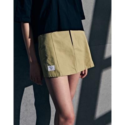 NAVY-率性斜紋褲裙(二色)-女【B2NA052】