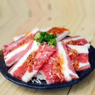 (滿額) 豪鮮牛肉 安格斯凝脂牛五花牛排2片(100公克±10%/片)