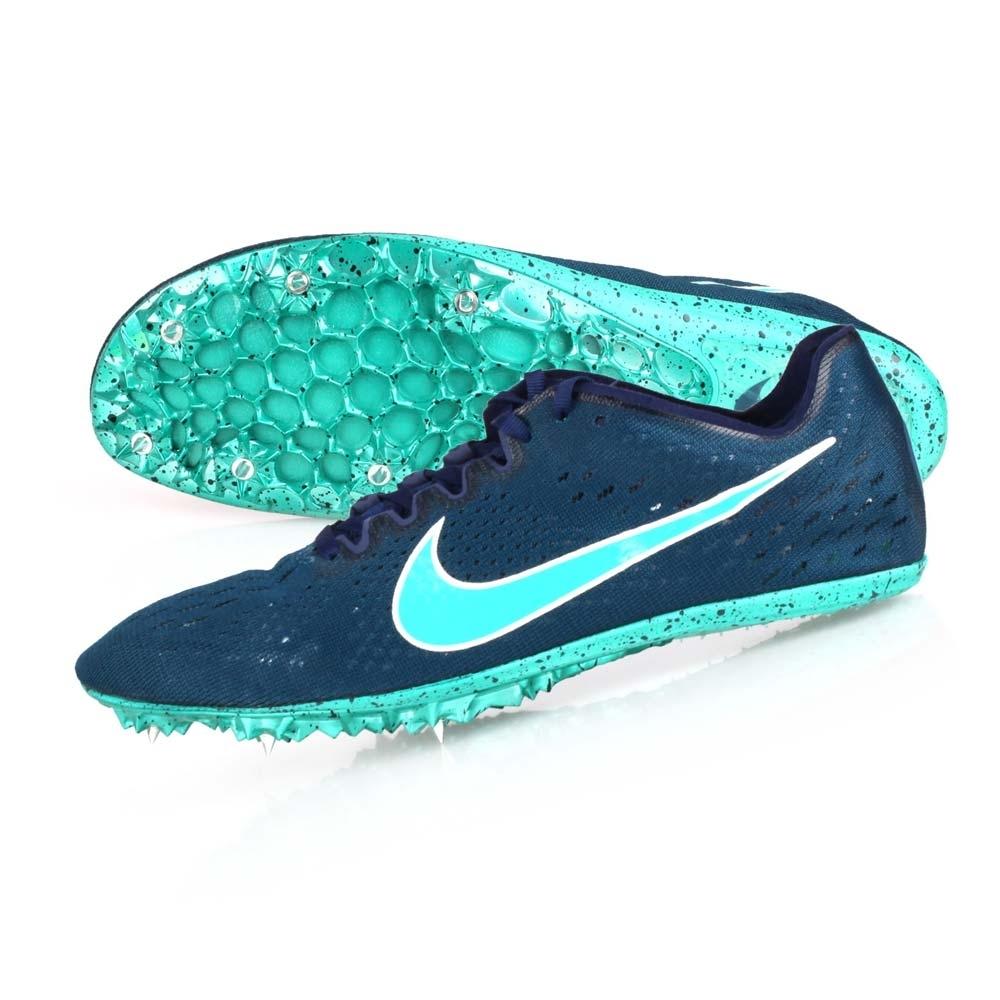 NIKE ZOOM VICTORY ELITE 2-男女限量田徑釘鞋-中長距離  競賽 835998400 墨藍湖水綠