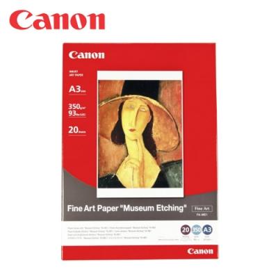 CANON FA-ME1 A3+粗質感美術紙-350磅 (20張)