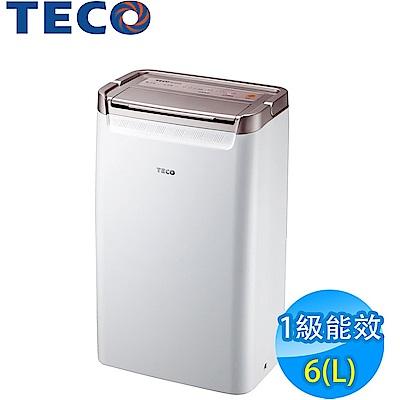 TECO東元 6L 1級清淨除濕機 MD1220RW