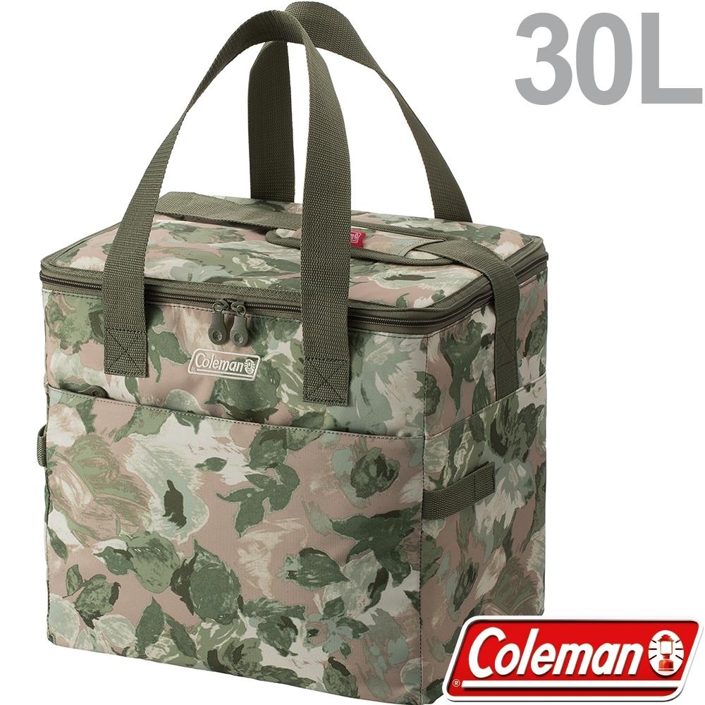 Coleman 35104大自然迷彩 30L手提保冷袋 生鮮購物袋/行動冰箱/保冰袋