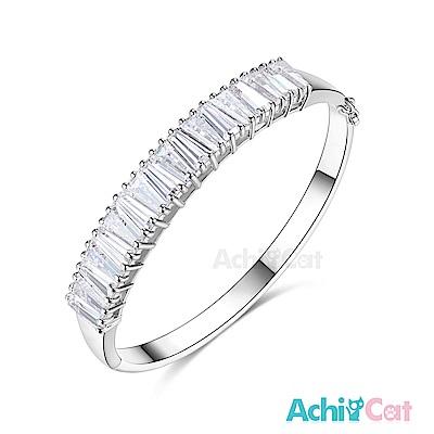 AchiCat 白K手環 氣質高貴 (銀色)