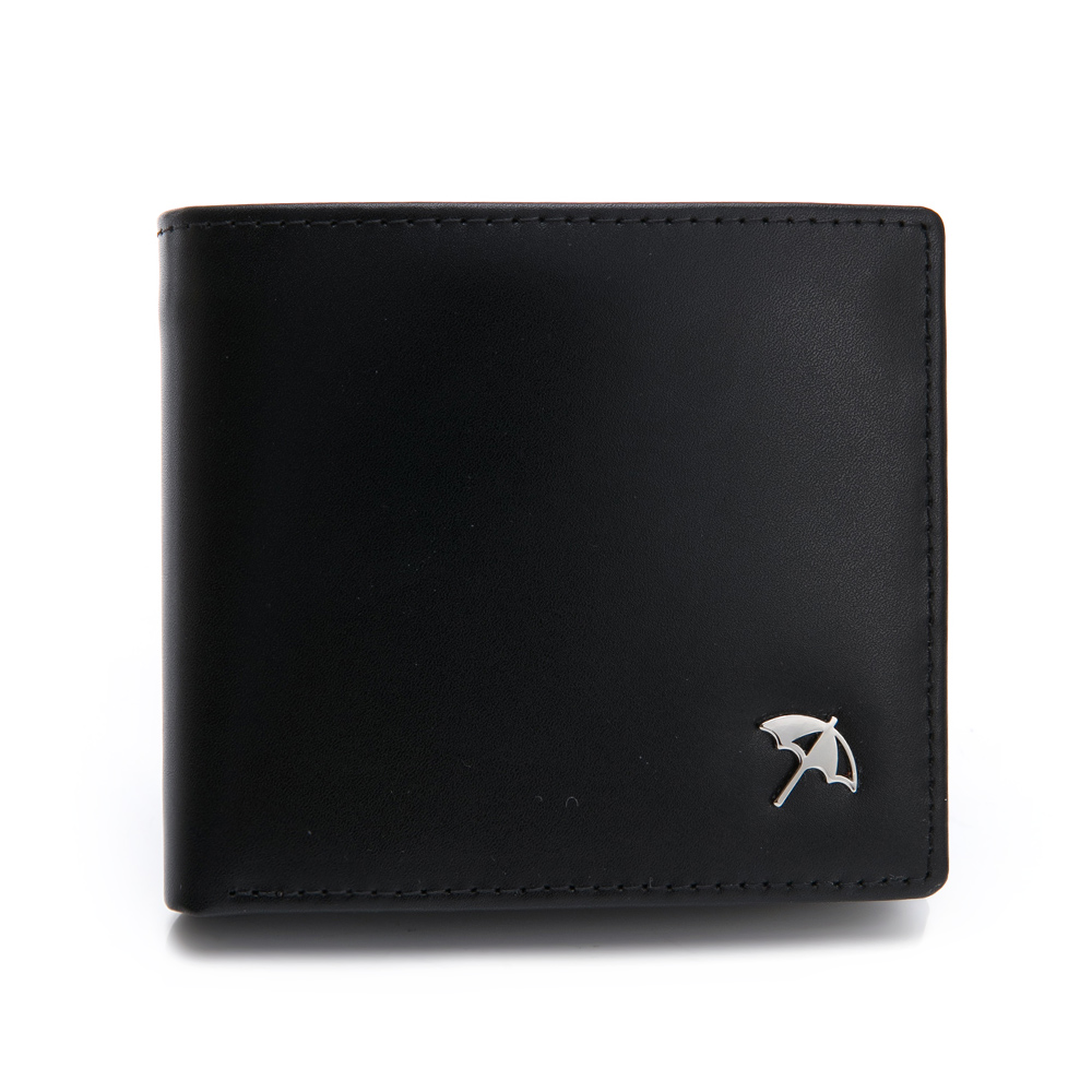 Arnold Palmer- 中翻短夾(可拆式)  ZAKI(阿拉伯-明亮)系列-黑色