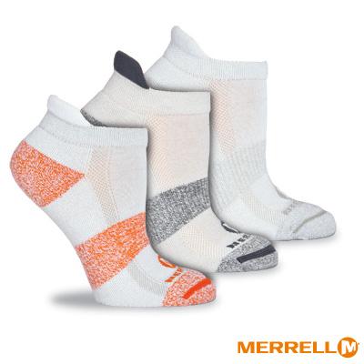 MERRELL 多功能運動襪組-白色組(WF0017D00203)