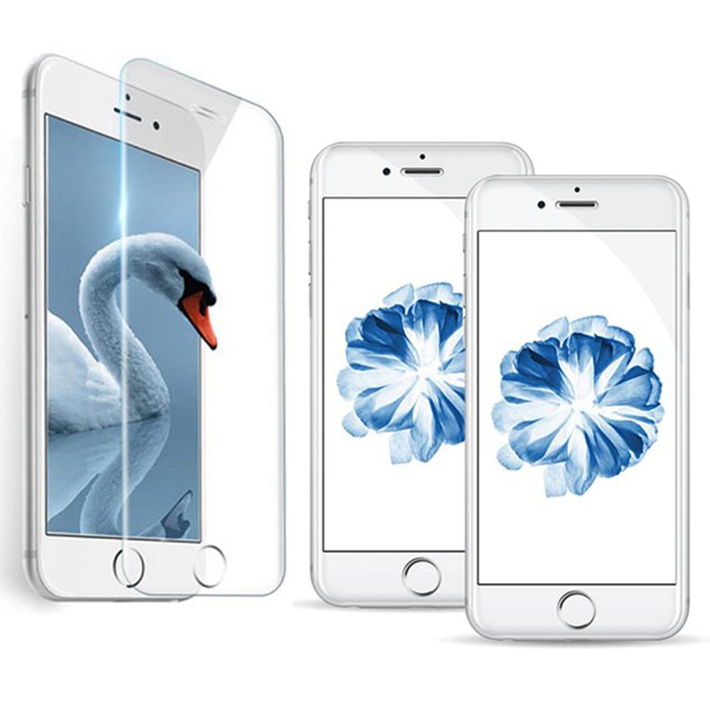 iPhone 7/8 Plus 透明高清全屏鋼化玻璃膜手機螢幕保護貼(非滿版)