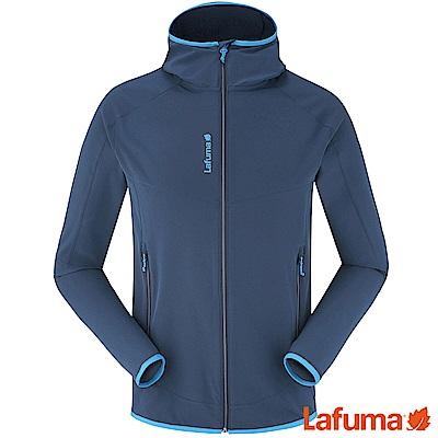 LAFUMA-男 TRACKSHELLDW連帽外套-LFV113776730-深藍
